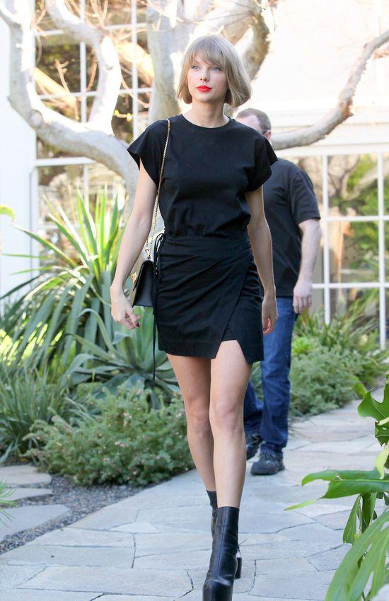 Taylor Swift WYMIATA na imprezie u Calvina Harrisa (VIDEO)