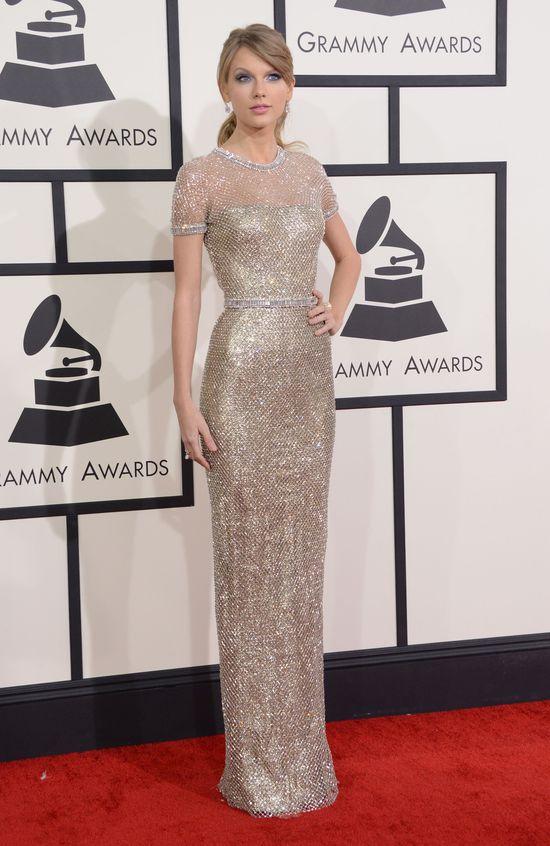 Plejada gwiazd na rozdaniu nagród Grammy (FOTO)taylor swift grammy 2014 suknia