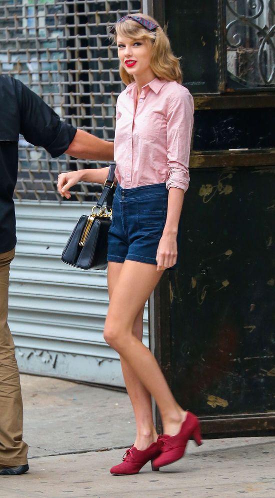 Kate Hudson mog�aby powalczy� z Taylor o tytu� miss n�g