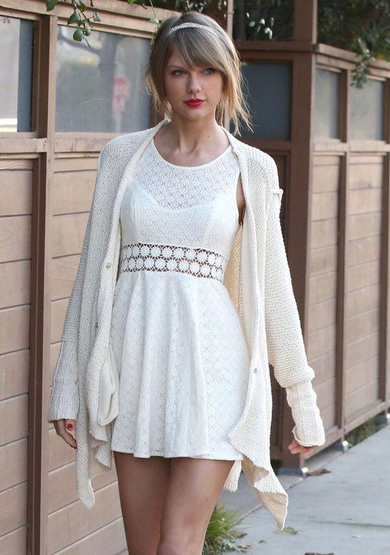 Odwa�ny krok Taylor Swift i Calvina Harrisa