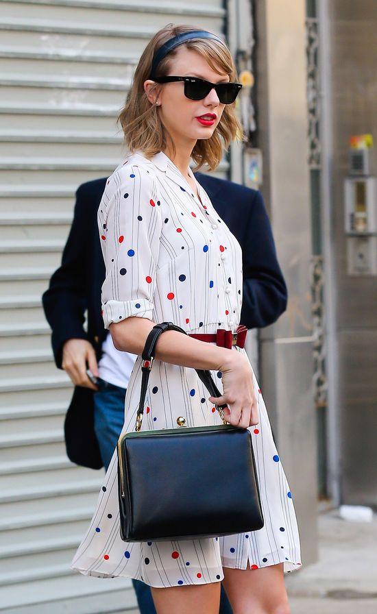 Dlaczego Taylor Swift używa czerwonej szminki?