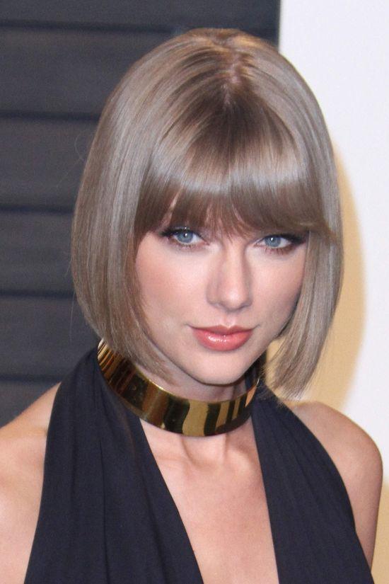 Taylor Swift jako seksowny kociak na imprezie Vanity Fair
