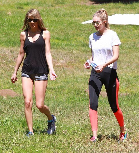 WOW! Taylor Swift wysz�a z domu w sportowym stroju!
