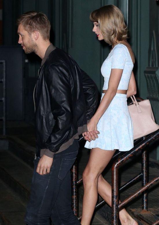 Zakochane ptaszyny na randce, czyli Calvin i Taylor (FOTO)