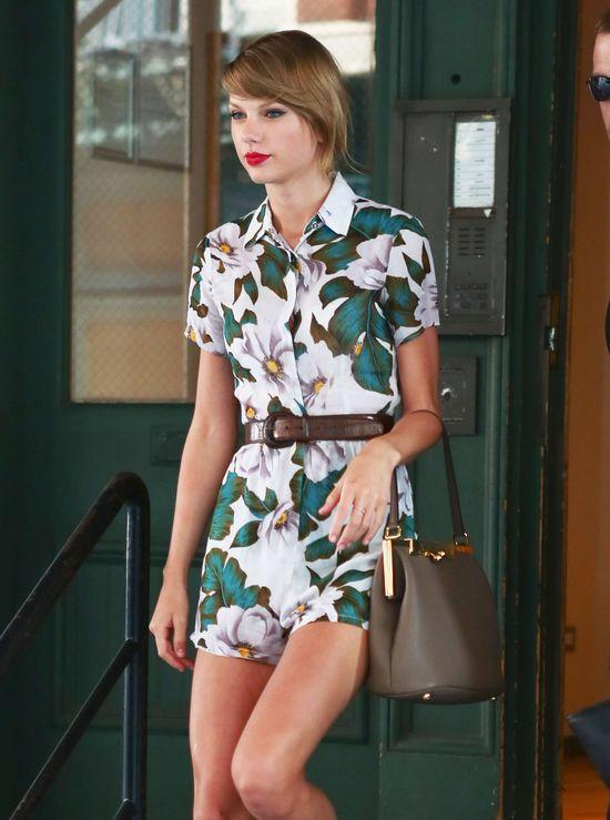 Taylor Swift przefarbowała włosy (FOTO)