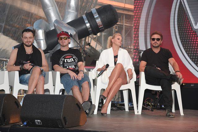 Górniak, Sadowska, Młynkova na konferencji The Voice (FOTO)
