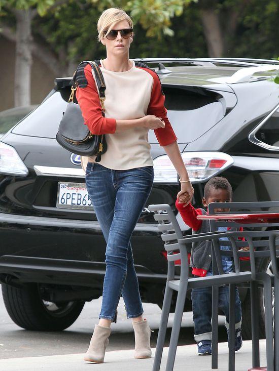 Charlize Theron jako nastolatka (FOTO)