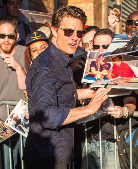 Tom Cruise nie jest biologicznym ojcem Suri?