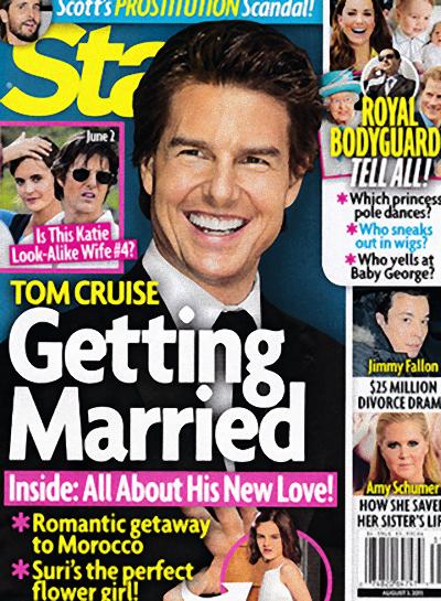 Tom Cruise bierze... �LUB?