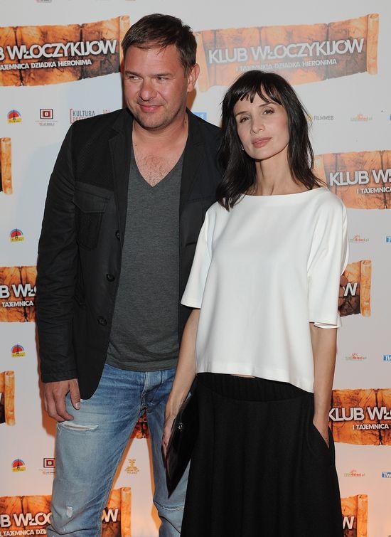 Rzadki widok - Karolak i Kołakowska razem na ściance (FOTO)