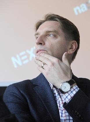 Tomasz Lis na otwarciu nowego portalu (FOTO)