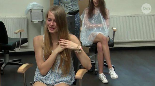 Karolina Pisarek z Top Model histeryzuje w czasie metamorfoz