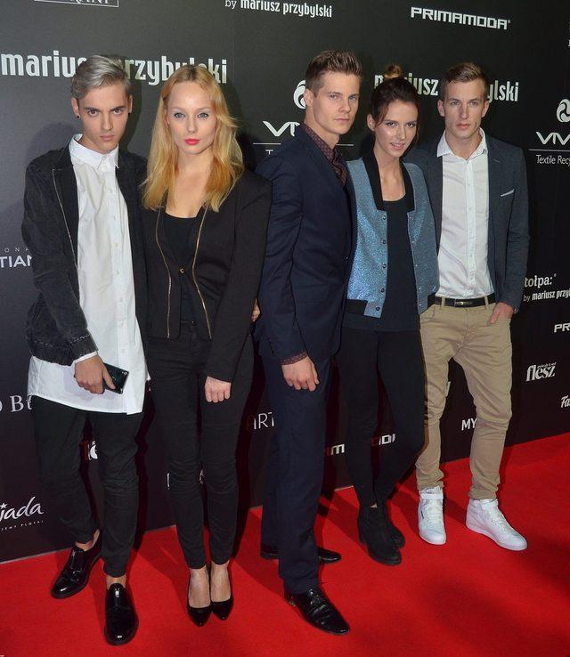 Ekipa Top Model na pokazie Mariusza Przybylskiego (FOTO)