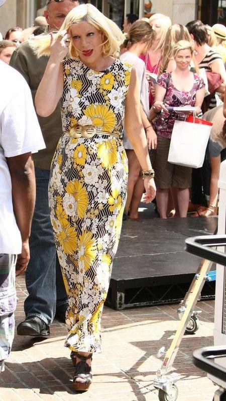 Tori Spelling: brzuszek po raz czwarty (FOTO)