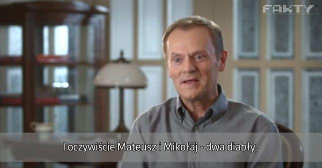 Tusk mówi po angielsku
