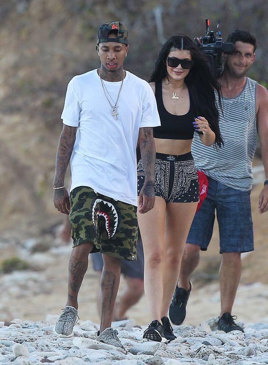 Tyga nieźle zarabia na byciu chlopakiem Kylie Jenner