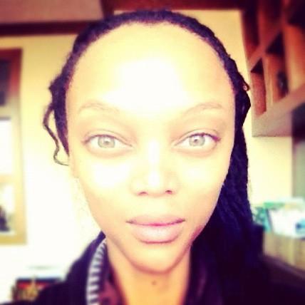 Tyra Banks jak kosmitka (FOTO)