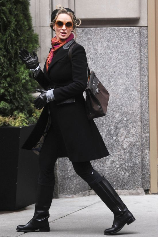 Uma Thurman zdradziła imię swojej 3-miesięcznej córeczki