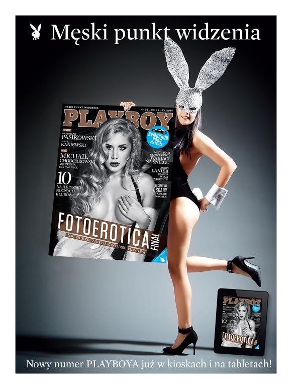 A na ok�adce najnowszego Playboya...