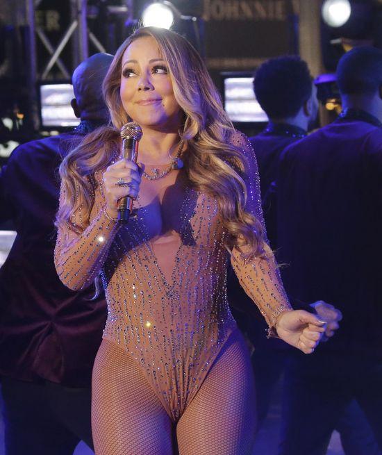 Mariah Carey zaliczyła wpadkę na Sylwestra, bo paliła marihuanę?