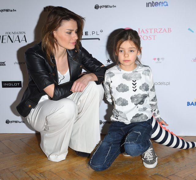 Kalina Józefowicz, córka Nataszy Urbańskiej, ma już 7 lat