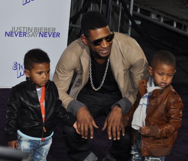 Usher zostanie pozbawiony prawa do opieki nad dziećmi?