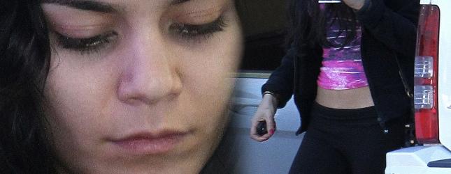 Vanessa Hudgens: bez makijażu, za to z płaskim brzuchem FOTO