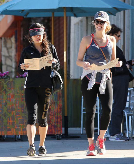 Vanessa Hudgens bez maijażu podczas treningu (FOTO)