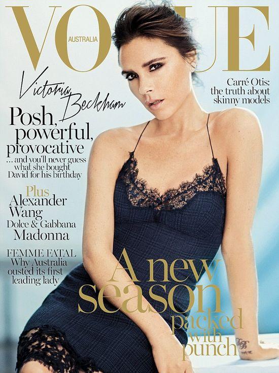 Victoria Beckham: Jese�my o wiele bardziej normalni...