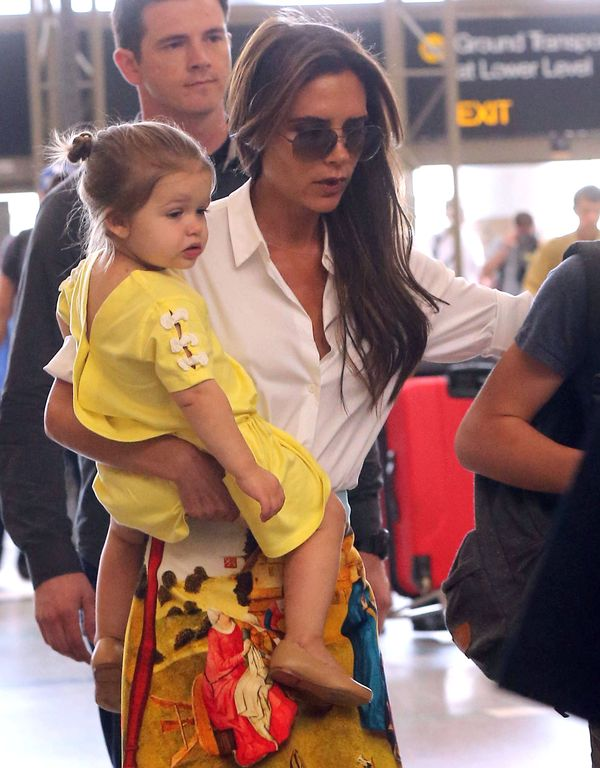 Jak Victoria Beckham pakowała się do Chin (FOTO)