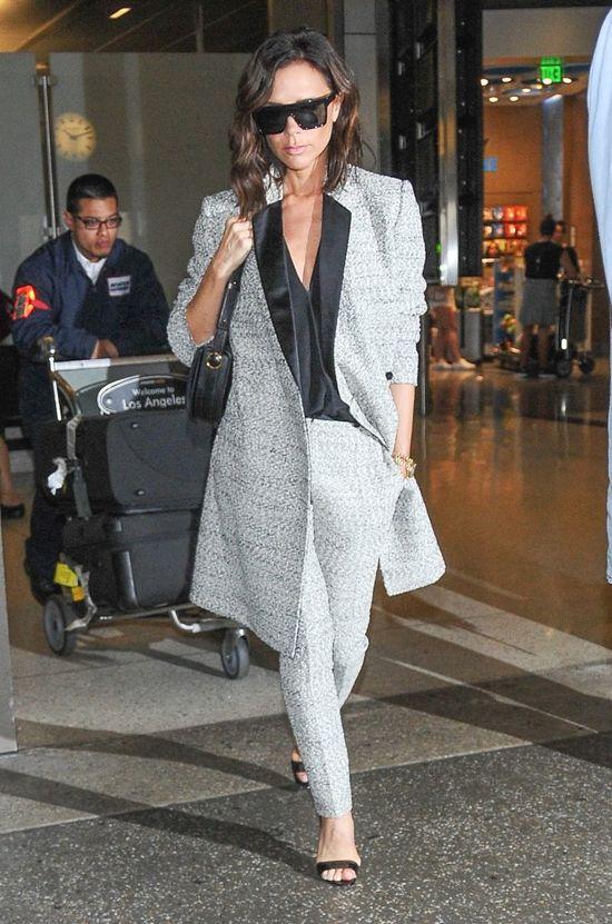 Zmęczona i stylowa Victoria Beckham (FOTO)