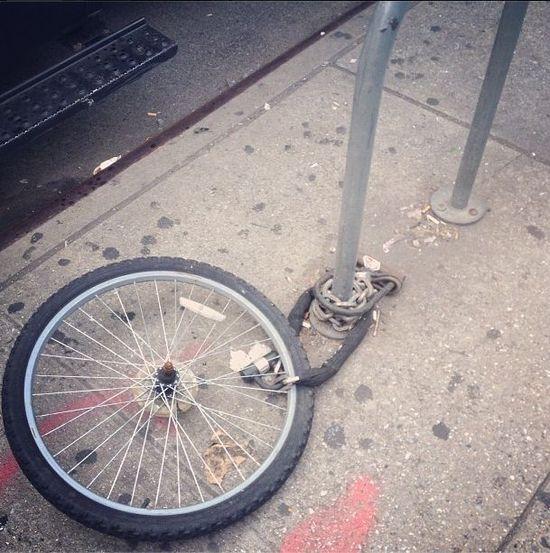 Victoria Beckham odnalazła swój skradziony rower (FOTO)