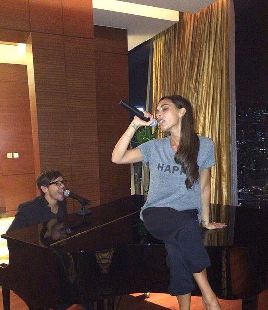 Victoria Beckham wraca do śpiewania? (FOTO)