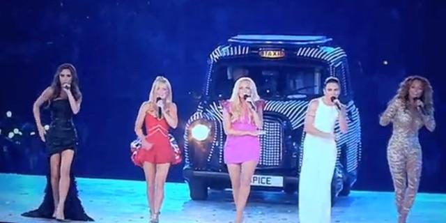Spice Girls na uroczystości zakończenia Olimpiady (FOTO)