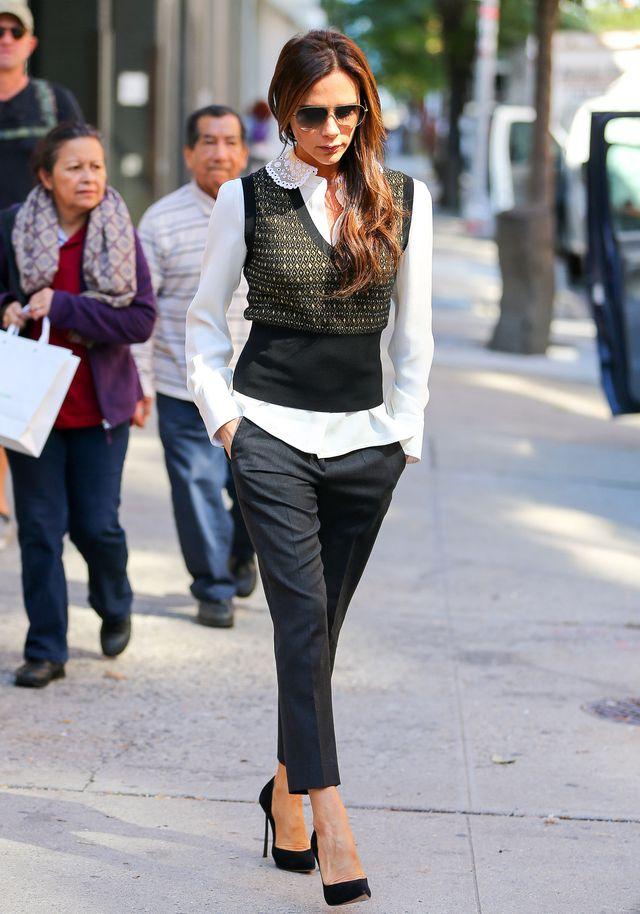 Victoria Beckham jako romantyczna bizneswoman (FOTO)