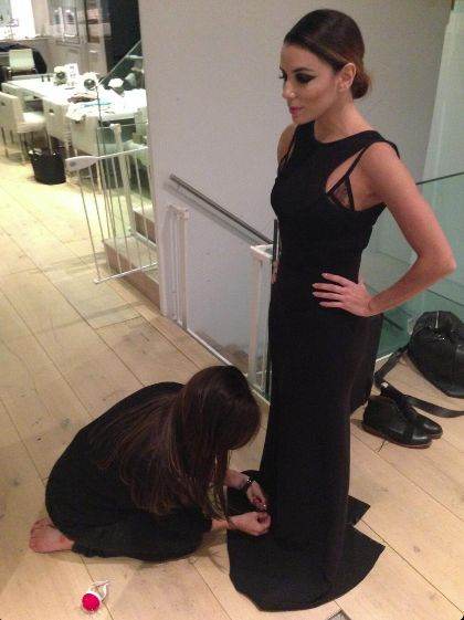 Victoria Beckham stylistką Evy Longorii (FOTO)
