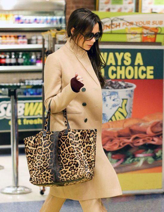 Victoria Beckham w panterkowym wydaniu (FOTO)