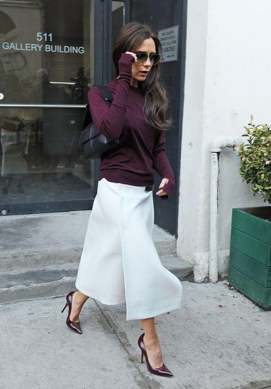 Stylowa Victoria Beckham na ulicach NY (FOTO)