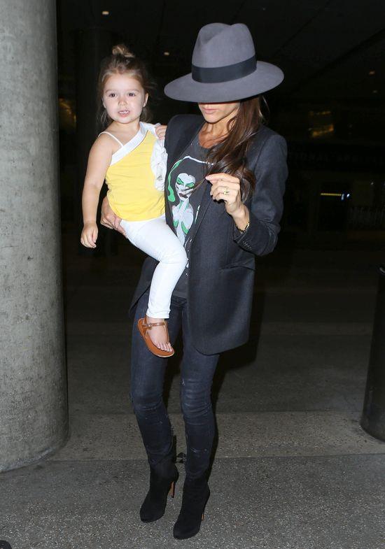 Harper Beckham oczarowała paparazzi (FOTO)