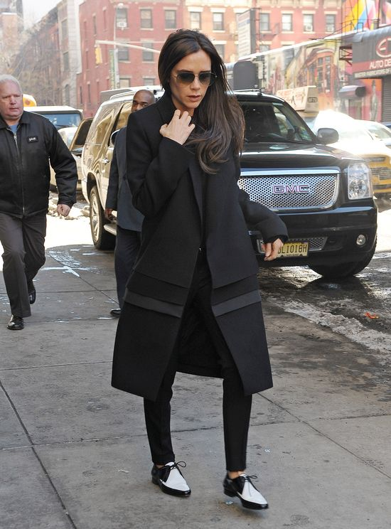 Victoria Beckham tym razem zrezygnowała ze szpilek (FOTO)