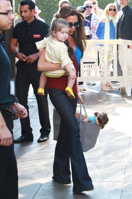 Córeczka Beckhamów skończyła już 2 latka (FOTO)