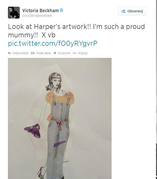 Harper Beckham ju� projektuje (FOTO)