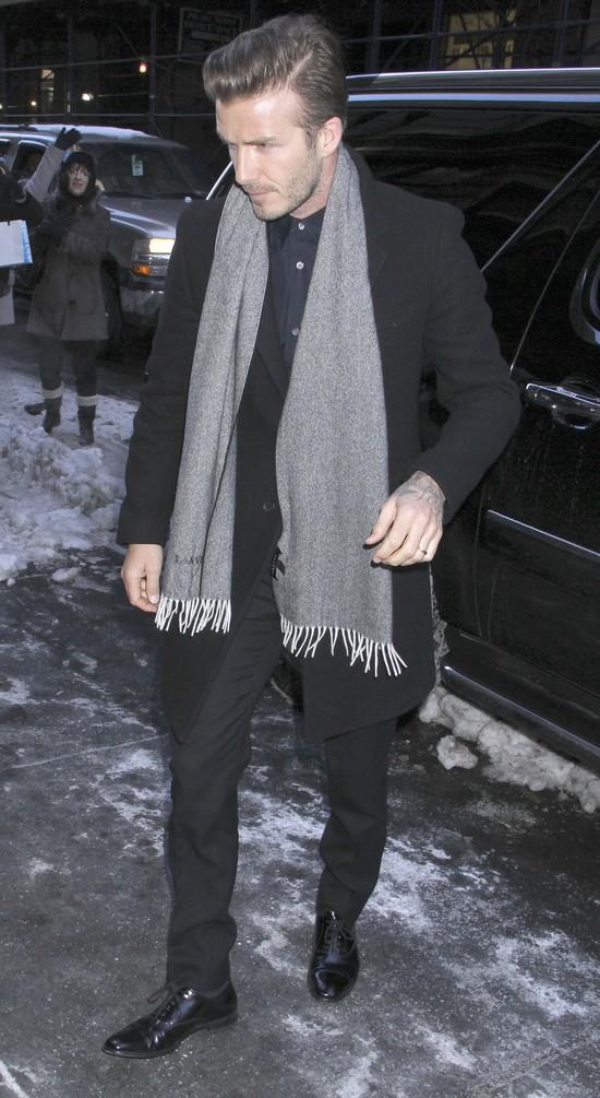 Beckhamowie wciąż w Stanach (FOTO)
