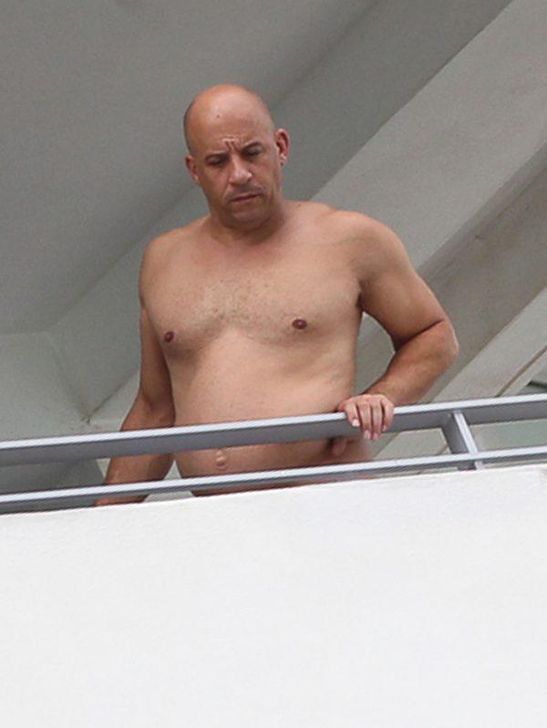 Ufff... Vin Diesel urodzi�? (Instagram)