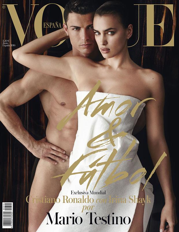 Cristiano Ronaldo i Irina Shayk n okładce Vogue'a!