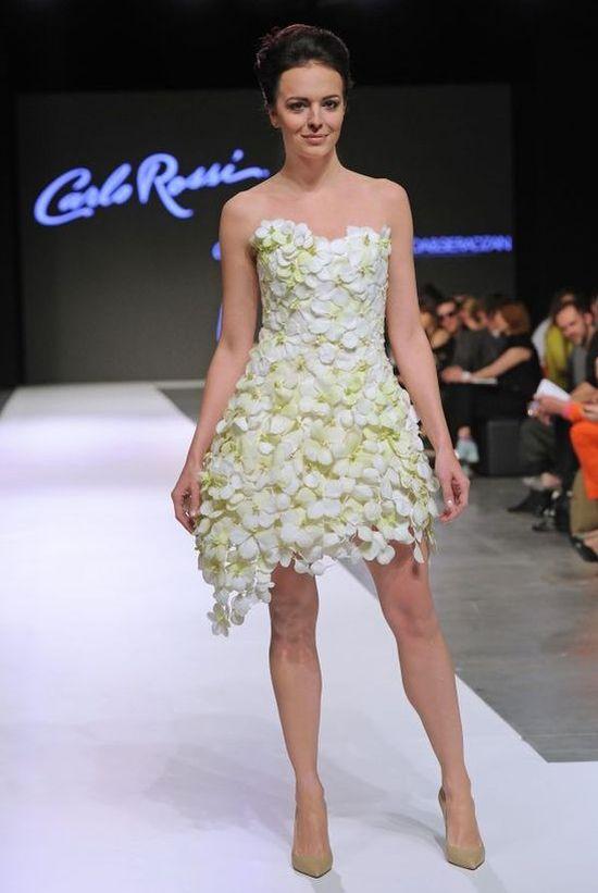 Lubert i Wendzikowska w sukniach ze storczyków (FOTO)