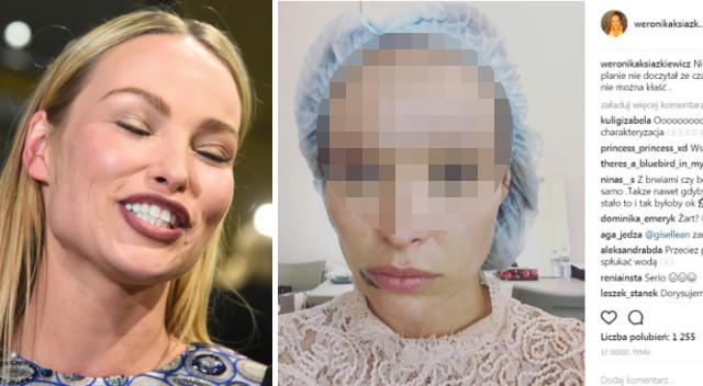 O Boziu! O matko! Przerażające! Fani komentują selfie Weroniki Książkiewicz