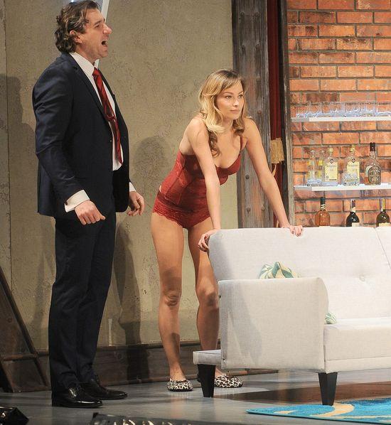 Weronika Książkiewicz wyszła na scenę w samej bieliźnie