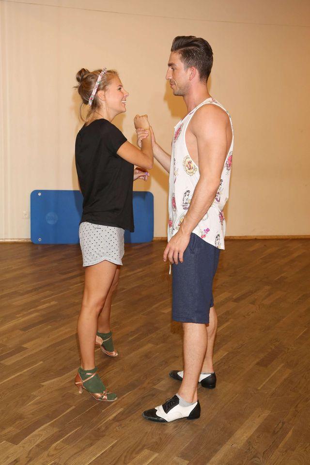Wierzbicka w szortach trenuje do Tańca z gwiazdami (FOTO)