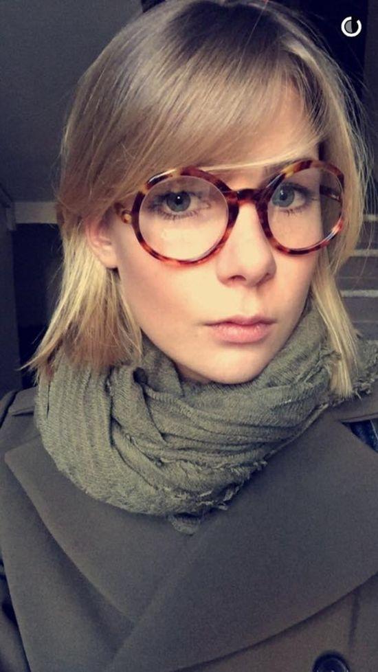 Marta Wierbicka jeszcze bardziej skróciła włosy (Snapchat)